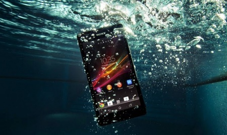 Реанимация мобильника упавшего в воду
