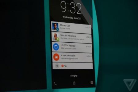Android L - вид уведомлений