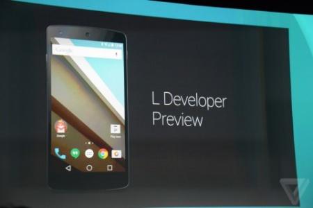 Android L - новая версия мобильной операционной системы