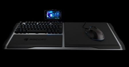 Игровые клавиатура Roccat Sova и мышь Roccat Tyon