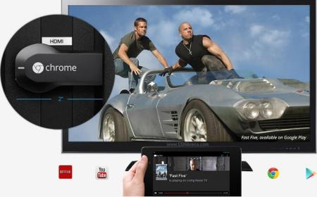 Google начала продажи мини-приставки Chromecast в России
