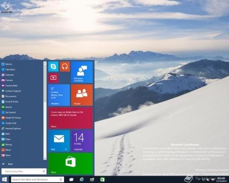 В сети появилась сборка Windows 10 Build 9901