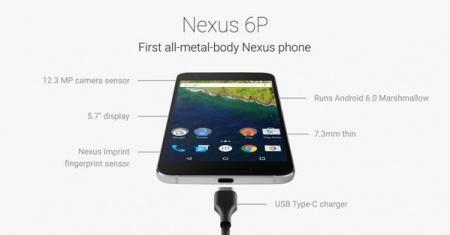 Обзор смартфона Google Nexus 6P