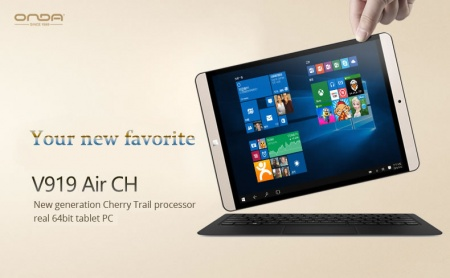 Onda V919 AIR CH (с Windows 10)