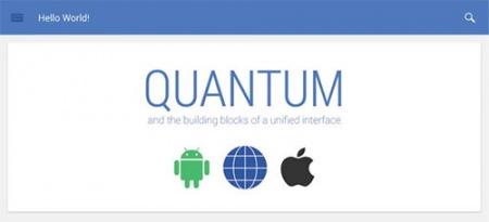 Quantum Paper – новая дизайнерская парадигма Google