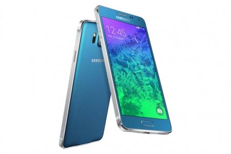 Samsung представил металлический Galaxy Alpha
