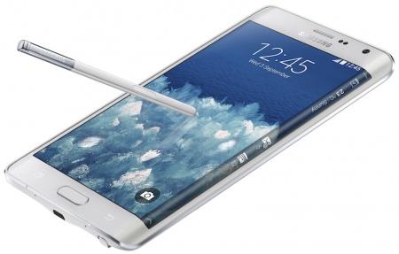 Экран на боку Samsung Note Edge