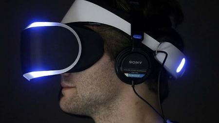 Виртуальный шлем Sony Morpheus